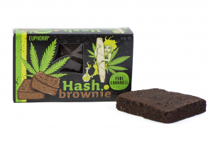 Brownie Pure Cannabis 50 g  Konopne Brownie