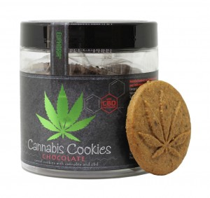 Ciasteczka Cannabis Cookies Chocolate 120g